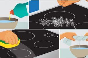 6 koraka za lako čišćenje ravne ploče na šporetu 665 l