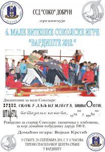 Plakat stampa Male sokolske igre-Vardiste
