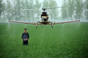 China-Agriculture-Drone