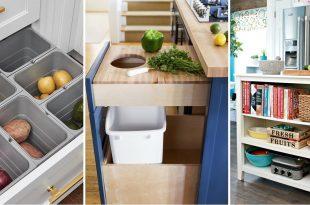 10 sjajnih trikova za bolju organizaciju u maloj kuhinji 665