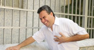 Heart attack: Man with sudden chest pain