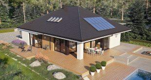 Savršena kuća za porodicu sa decom DETALJAN PLAN 665 l