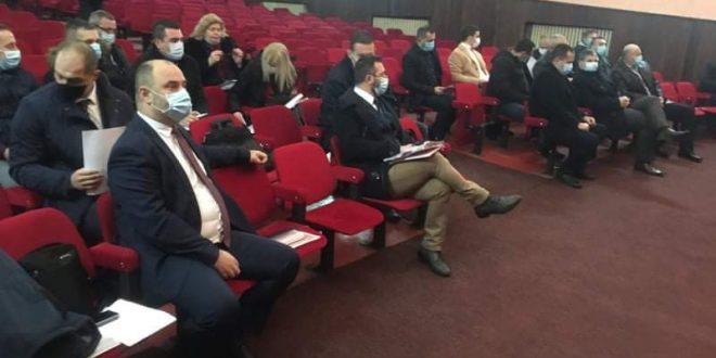 ВИШЕГРАД, 12. ЈАНУАРА /СРНА/ - Прва сједница новог сазива Скупштине општине Вишеград.
