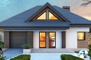 Moderna kuća s potkrovljem 665