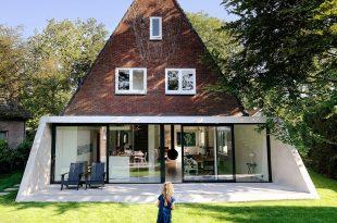 PRE I POSLE Moderna nadogradnja na staroj kući 665 l