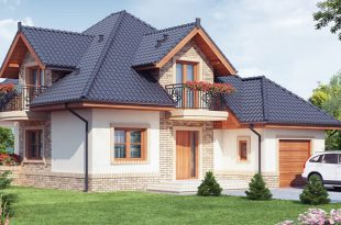 Porodični san Idilična kuća s potkrovljem DETALJAN PLAN 665